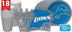 NFL Detroit Lions Party Supplies - Party City