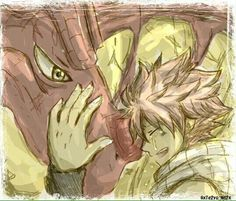 red dragon, dragon slayer, and fairy tail image