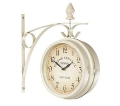 Vintage wall clock grand central terminal New York , $60.00 13.4x3.5x13.2 inches