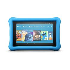 """All-New AMAZON Fire 7 Kids Edition Tablet 7"""" Display 16 GB Blue Kid-Proof"""