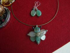 Handmade Jewelry, Bloom, Drop Earrings, Stone, Jewerly, Rock, Handmade Jewellery, Jewellery Making, Drop Earring
