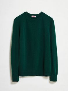 Women's Green Recycled Cashmere Sweater | Tricot