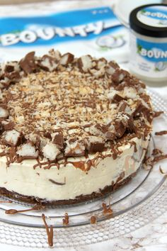 A Coconutty, Sweet, and Delicious No-Bake Bounty Cheesecake that is guaranteed to satisfy anyones Coconut & Cheesecake cravings! I have been wanting to post a Bounty related cheesecake for a while, as I recently re-discovered my love and adoration for them. I love coconut bakes, such as my Coconut Loaf Cake,but when I was younger and was given the box of Celebrations I always said I hated Bounty bars as all I wanted was the Maltesers.. needles to say, I made an error here. When I was…