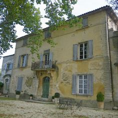 "Chateau la Canorgue, Bonnieux, House from ""A Good Year"""