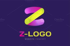 Abstract Z letter vector logo icon by Vector-Stock on Creative Market