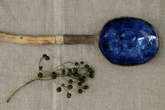 Handmade ceramic spoon. studiowetwo.com