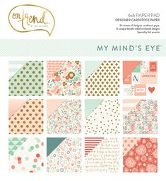 NEW - On Trend Collection by My Mind's Eye #mymindseye