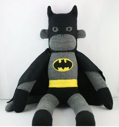 Hey, I found this really awesome Etsy listing at http://www.etsy.com/listing/100023713/batman-the-sock-monkey-made-to-order