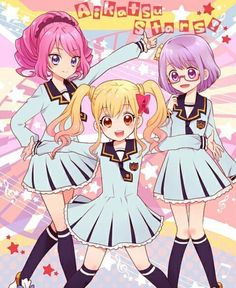 Yume,Laura and Koharu