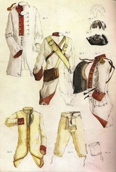 French Heavy Cavalry Uniform - Project Seven Years War
