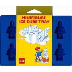 Cubitera para hacer cubitos de hielo del muñeco de LEGO