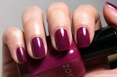 Zoya Nail Polish in Ciara - Perfect raspberry nail shade!
