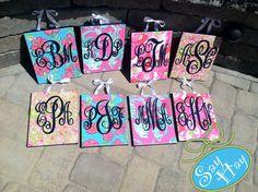 Super Cute Monogram Canvas Gifts