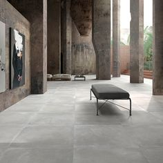 Stage porcelain grey flooring tiles offer sophisticated grey flooring with a matt finish. These large rectified tiles are made from top quality porcelain making them ideal for stylish contemporary homes or commercial environments.