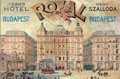 This Is the Closest You May Come to Staying at the Grand Budapest Hotel - Condé Nast Traveler. The original Grand Hôtel Royal, Budapest, Hungary. Look familiar? Budapest Spa, Gran Hotel Budapest, Budapest Hungary, Hungary Travel, Messy Nessy Chic, Railway Posters, Unique Hotels, Grand Hotel, Hotel Royal