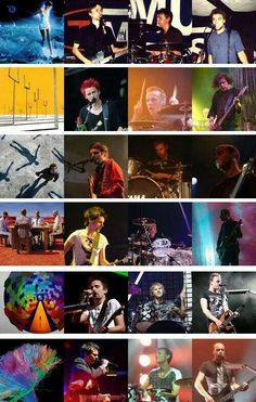 Muse over the years Great Bands, Cool Bands, Muse Band, Matthew Bellamy, British Rock, Leap Of Faith, Bastille, Albums, Baby Dolls