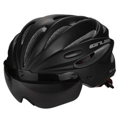 Ultralight Magnetic Goggles Cycling Helmet Features: Ultralight about 245g. Unicase technology ,more safe and perfect. Ventilation,use air cooling make the air GUB Top Magnetic Goggles Cycling Helmet Ultralight Bicycle Helmet With Lens & Sunvisor Casco Ciclismo 56-62 CM Bike Helmet airmen jersey dominos jersey ocorian jersey are available in cyclings tore, Cycling store near me, Road bicycle racing, pro cycling manager 2018 and 2017 with Superleague triathlon dominos jersey is best for ro...