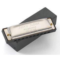 Father of the Bride Gift - Stainless Steel Harmonica