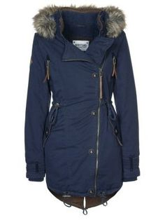 If you live in the mountains, you need a cute parka...with an actual waist