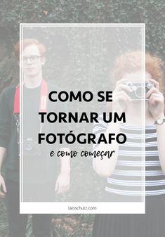 """Uma das grandes dúvidas com relação à fotografia é """"Como ser um fotógrafo profissional e como começar"""". Muita gente quer começar, mas poucos sabem como fazer, portanto, eu vim aqui para te ajudar a dar este primeiro passo para começar a fotografar profissionalmente logo. Vamos lá?"""