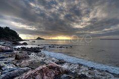 Glimpse of Sunlight Meadfoot Beach