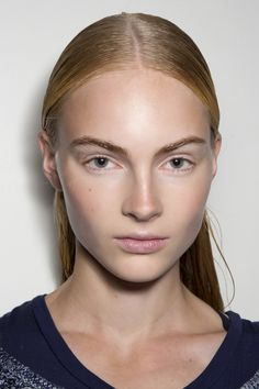 Sometimes you literally only have 10 seconds to get ready, in which case a quick swipe of clear brow gel (or even lip gloss, if you're daring/creative/desperate) will make you look surprisingly polished. Apply liberally, then use the pads of your middle fingers to shape your brows into an arch.   - MarieClaire.com