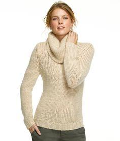 Cowlneck Sweater: L.L.Bean Signature