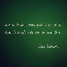 arte #mundo #arte #frases #veromundo #enxergar #artista
