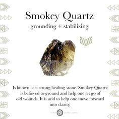 Smokey Quartz | Gemstones & Sacred Materials | Tiny Devotions | Mala Beads