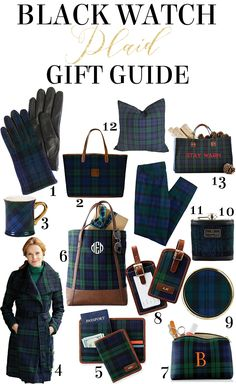 Black Watch Plaid Gift Guide