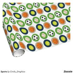 Wrap up your gifts with Sports wrapping paper from Zazzle. Great for any occasion! Choose from thousands of designs or create your own! Custom Wrapping Paper, Gift Wrapping Paper, Sports Gifts, Create Your Own, Tennis, Basketball, Wraps, Party Ideas, Personalised Wrapping Paper