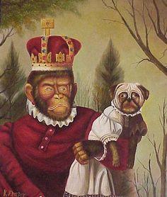 Monkey King and Pug Dog