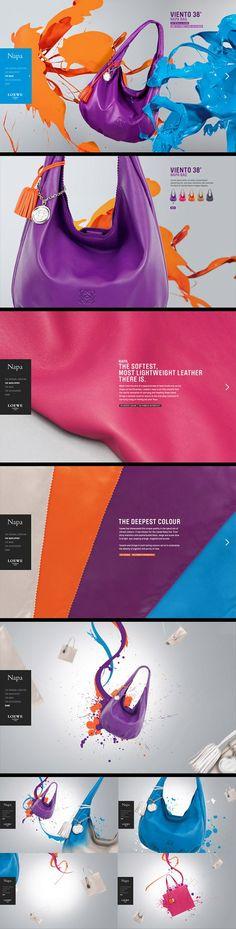 #Colorful webdesign #creative web template 83oranges.com http://toopixel.ch
