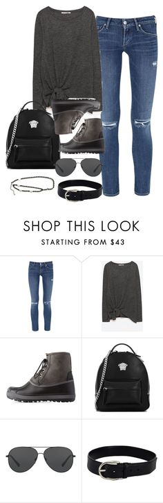 """""""Untitled #1368"""" by ruhika29 ❤ liked on Polyvore featuring Citizens of Humanity, Bamboo, Versace, Michael Kors and Gucci"""