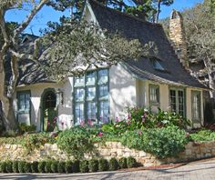 CARMEL BY THE SEA: Fairy Tale Cottages of Hugh Comstock - Obers, now known as, Hugh W. Comstock Residence, The Woods