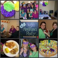 perry jayne handmade: How to throw a Mardi Gras Bunco Party