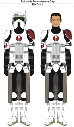 Mobile Recon Corps Elite Scout by MarcusStarkiller on DeviantArt Star Wars Pictures, Star Wars Images, Galactic Republic, Star Wars Models, Sci Fi Armor, Star Wars Ships, Star Wars Fan Art, Armor Concept, Armada