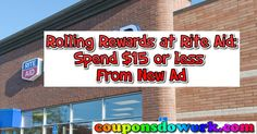 Rolling Rewards at Rite Aid Spend $15 or less 11/27 Ad - http://couponsdowork.com/rite-aid-weekly-ad/rolling-rewards-at-rite-aid-spend-15-or-less-1127-ad/