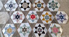 I love the lay out of this pattern!  Great idea for future English paper piecing projects!