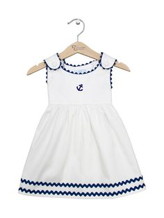 Ric Rac Pique Dress by Princess Linens at Gilt