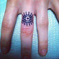 Eye tattoo tattoo