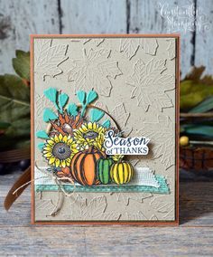 GDP256-001 ConnieCollins Fall Cards, Creative Cards, Stampin Up, Artisan, Card Making, Thankful, Paper Crafts, Mini, How To Make
