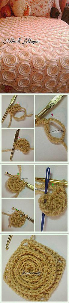 ОЧАРОВАТЕЛЬНЫЙ ПЛЕД.МК. | вязание крючком | Постила