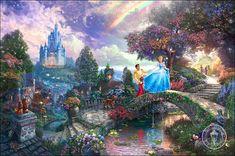 Cinderella by Thomas Kinkade