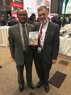 """Dr Beric Croome with Judge Bernard Ngoepe Tax Ombud SA and Dr Croome's new book #StreetSmartTaxpayers from Juta Law, before joining the Judge & SARS Representative Patricia Williams in a panel discussion on  """"The Psychology of Tax Behaviour in Times of Recession"""" Tax Indaba 2017  http://www.taxindaba.co.za"""