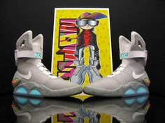 Nike Air Mag, this is the only shoe that i know that cost 5,000 dollars ! Maybe one day we'll get these !