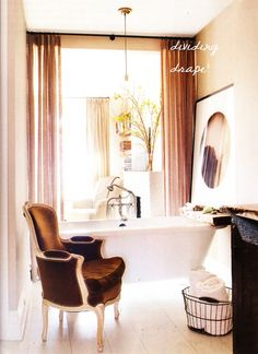 Keri Russell's bathroom