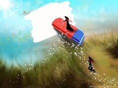 Hab Keine Angst, in Deiner Vorstellung zu spielen. Du kannst immer wieder korrigieren, bis dein Wunsch stimmig ist.  Make Myday Die Abenteuer der kleinen Fee Als Kalender und auf Wunsch jedes Motiv als FineArtPrint erhältlich. Mehr HerzLichtprodukte findest Du im Shop. http://www.spielweltv3galerie.com/shop/