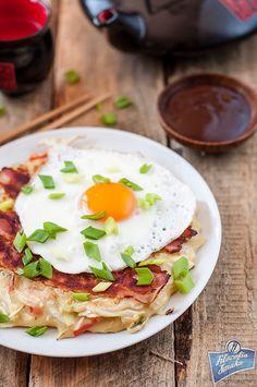 Okonomiyaki, japoński naleśnik | Filozofia Smaku
