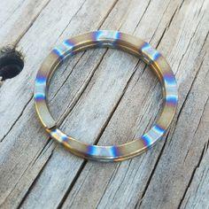 Titanium split ring www.tisurvival.com #splitring  #keyring #keychain #tisurvival #titanium